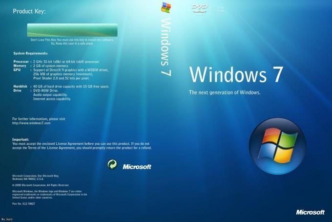 windows 7 pro license retail