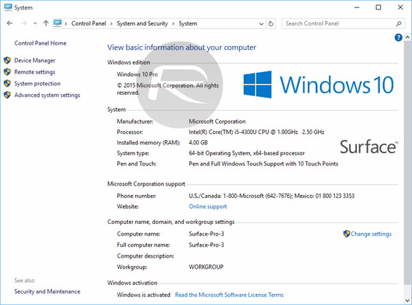 32 / 64 bit Windows 10 Pro Retail Box Product Key License ...