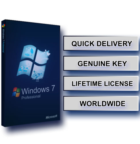 Computer Windows 7 Home Premium 32 Bit Product Key With COA Sticker 64Bit