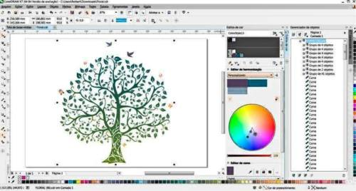 Graphic Art Design Software Coreldraw Graphics Suite X8 For Windows 7/8/10