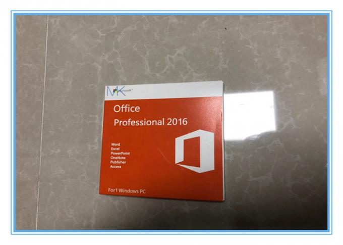 Genuine Microsoft Office Professional 2016 Product Key Optional Language With DVD