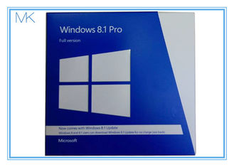 China Microsoft Windows 8.1 Pro 64 Bit Full SKU FQC-06913 Sealed Retail Package Windows 8.1 Download 32 Bit supplier