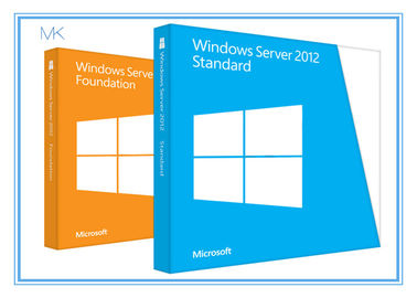 China Microsoft Windows Server 2012 Versions Standard Edition 64bit 5 Clients supplier