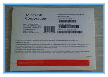 China OEM English Windows Server 2012 R2 Versions DVD OEM PACK 5 CALS supplier