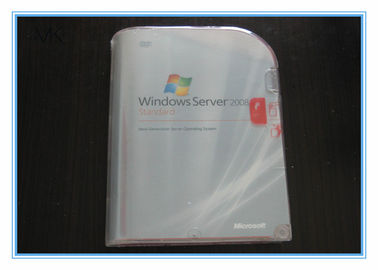 China Microsoft  Windows Server 2008 Versions Standard Retail Pack 5 Clients English 32bit 64bit supplier
