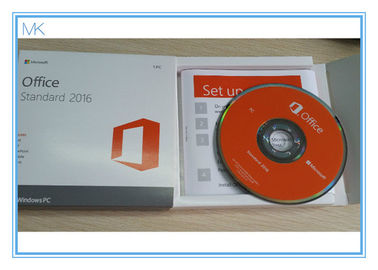 China Microsoft Office Professional 2016 Product Key DVD retail pack Windows Operating System supplier