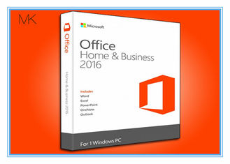 China BRAND NEW IN BOX Microsoft Office Professional 2016 Product Key Home & Business / Pro Plus English supplier