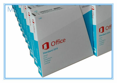 China Microsoft Office 2013 Software Pro / Home & Student/ Standard 32/64 Bit For 1 PC supplier