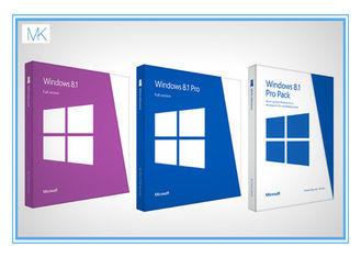 China Original Windows 8.1 64 Bit Product Key Oem Package With DVD Key Card supplier