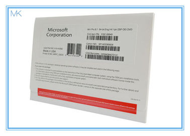 China Lifetime Guarantee Windows 8.1 Professional 64 Bit Oem 32 Bit French / Japanese Version supplier