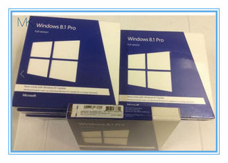 China 32 / 64 Bits Windows 8.1 Retail Version DVD Professional Windows Pro Retail supplier
