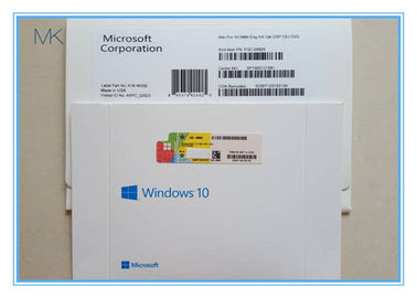 Spanish Language Microsoft Windows Software Win 10 Pro OEM 64 Bit