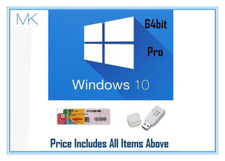 China Professional Retail Version microsoft windows 10 pro 64 bit 32Gb USB Install supplier