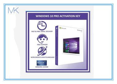 China 100% Activation Online Windows 10 Retail Box 64 Bit Windows 10 Pro Software supplier