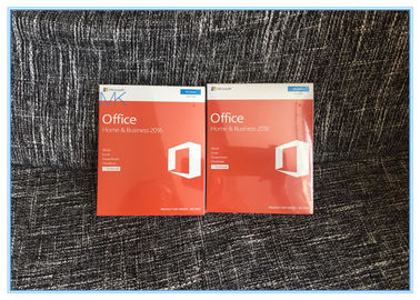 China Genuine Sealed Box Microsoft Office Home and business 2016 FPP Product Key supplier