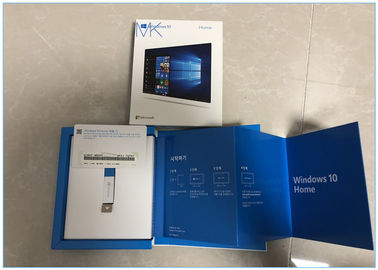 China USB Flash Drive Microsoft Windows 10 Operating System , Win10 Home Full Version 32 & 64- bit supplier