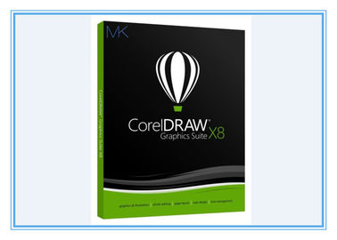 China Graphic Art Design Software Coreldraw Graphics Suite X8 For Windows 7/8/10 supplier
