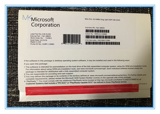 China Microsoft Windows 10 Pro 64 Bit / 32 Bits Genuine New Online Activation Key supplier