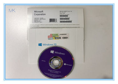 China 64 Bit OEM DVD 1909 Windows 10 Pro Retail Box supplier