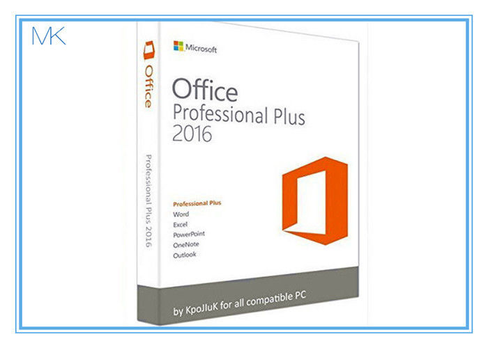 original key microsoft office 2016 professional plus software retailbox with usb. Black Bedroom Furniture Sets. Home Design Ideas