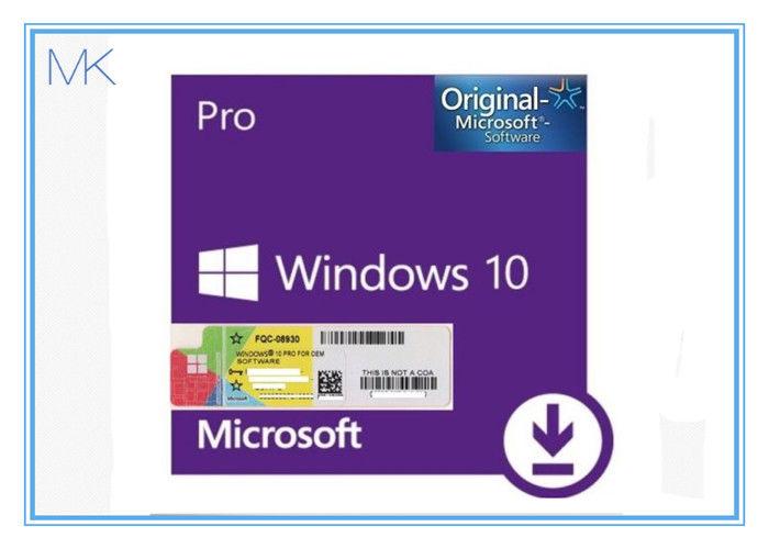 Windows 10 Pro 64 Bit Retail Original License Key Code For ...
