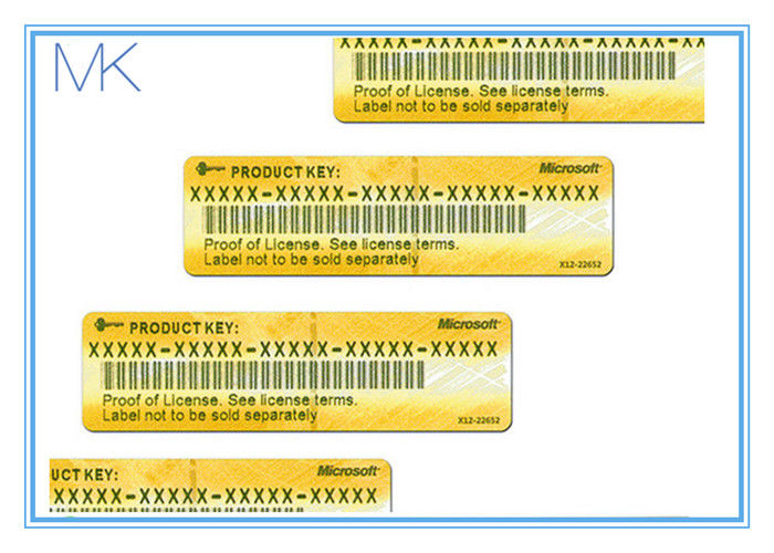 English Windows 81 Pro Activation Product Key Sticker