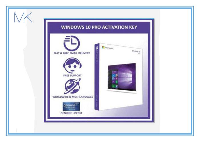 100% Activation Online Windows 10 Retail Box 64 Bit Windows 10 Pro