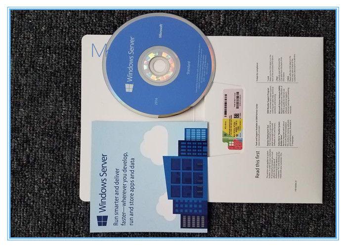 English Windows Server 2016 Standard 64 Bit 1 Pack DSP 16