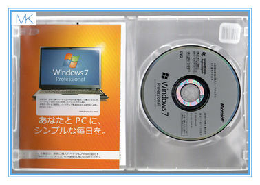 Japanese Windows 7 Pro 64 Bit Full Retail Version Perfect Working