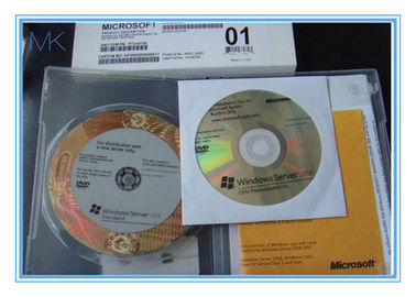 Full Version 64bit Windows Server 2008 Versions R2 Enterprise OEM Pack 1-4 cpu standard 5 CLT