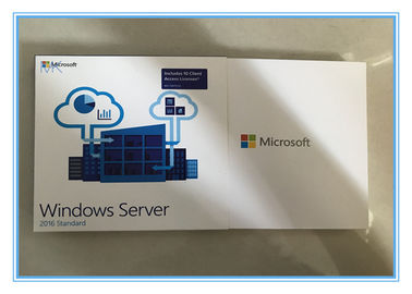 Full Sealed Retail Box MS 10 CLT Windows Server 2016 Standard Edition