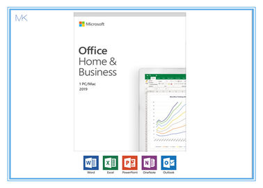 Intel Processor Microsoft Office Home And Business 2019 Online Activation Key Card