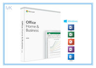 1 Device MS Office Home And Business 2019 Product Key Card DVD Media For Mac/PC